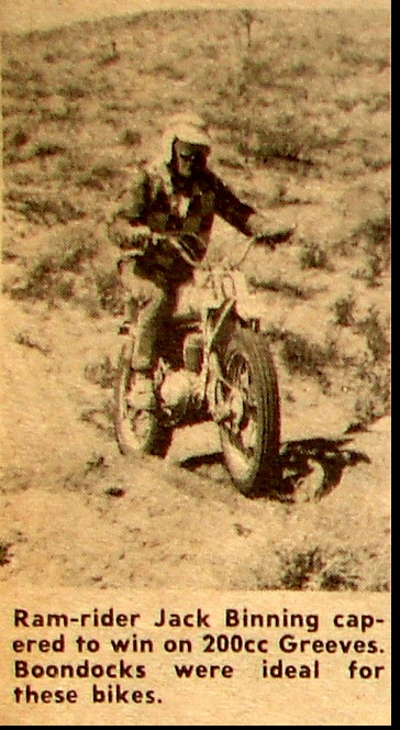 FOUR ACES MOOSE RUN NATIONAL CHAMPIONSHIP HH. 1962 JACK BINNING