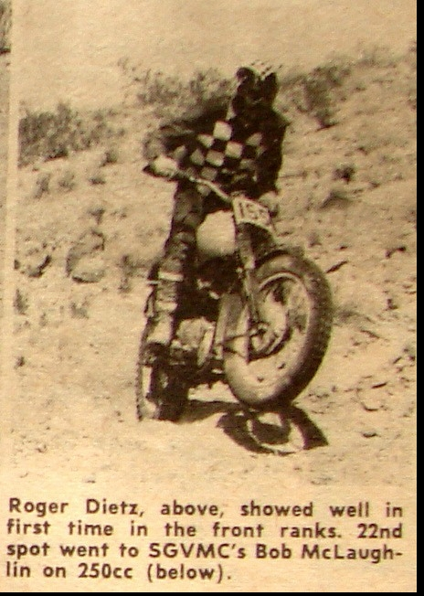 FOUR ACES MOOSE RUN NATIONAL CHAMPIONSHIP HH. 1962 ROGER DIETZ
