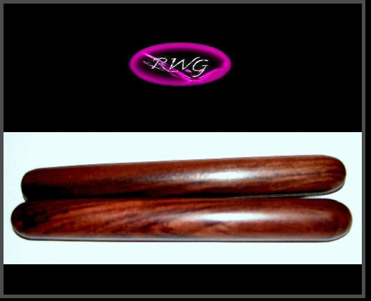 Genuine Indian Rosewood Claves