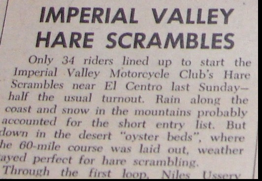 IMPERIAL VALLEY MC. 1966