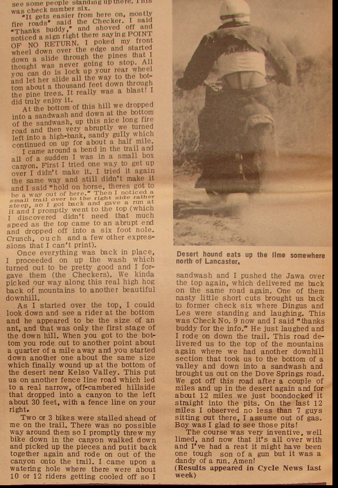 LARRY HALEY CHECKCHASE 1966 PAGE 3