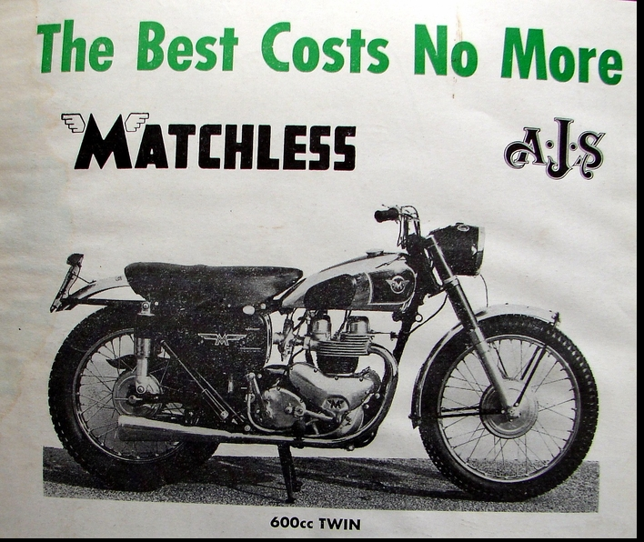 MATCHLESS 1956