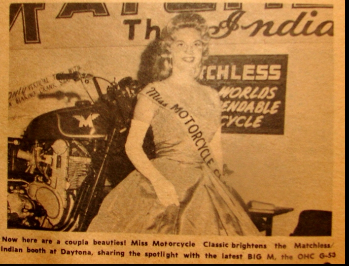 MISS MOTORCYCLE CLASSIC 1962