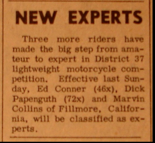 NEW EXPERTS 1961
