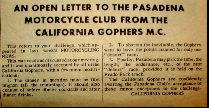 PMC TO GOPHERS 1963