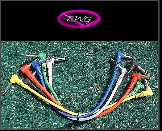 1 Set of Proline 1 Foot Patch Cables Angled