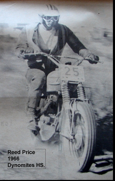 REED PRICE 1966 DYNA-MITES HS.