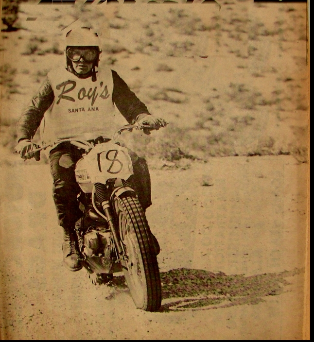 RONNIE NELSON 1963 CHECK CHASE 1ST OVERALL