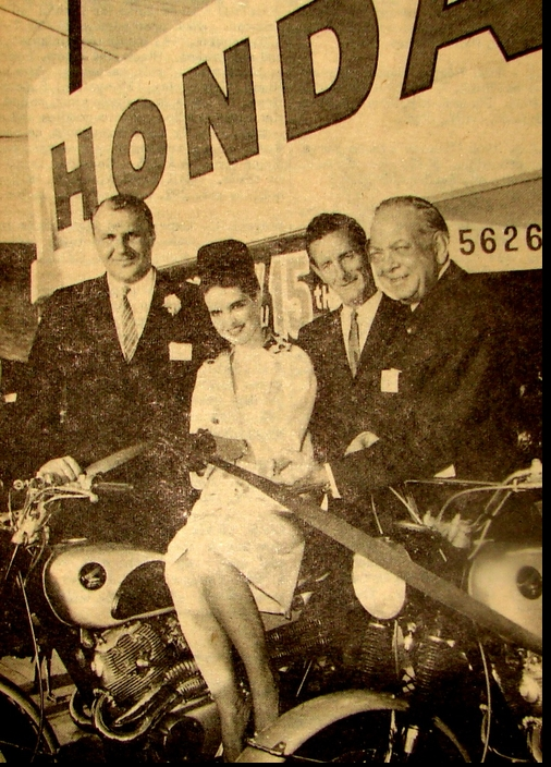 THE UNKNOWN HONDA GIRL 1963