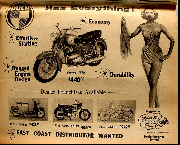THE UNKNOWN PUCH GIRL 1960