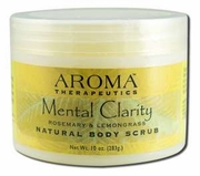 Abra Therapeutics Mental Clarity Body Scrub 10oz Jar