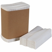 Georgia Pacific Tall Fold Dispenser Napkins, 1-Ply, 7 x 13 1/2, White, 10,000/case   FREE SHIPPING