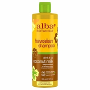 Alba Botanica Hawaiian Hair Care Drink It Up Coconut Milk Shampoo   12 fl oz