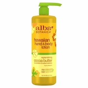 Alba Botanica Hawaiian Spa Treatments Cocoa Butter Hand & Body Lotion 24 fl. oz. value size