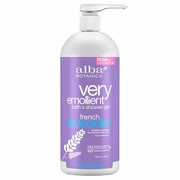 Alba Botanica Very Emollient Bath & Shower Gels French Lavender 32 fl. oz.