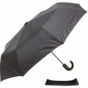 "All-Weather™ 42"" Tri-Fold U-mbrella with J-Hook Handle FREE SHIPPING"