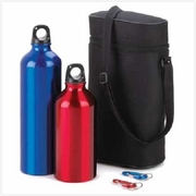 Aluminum Water Bottle Set