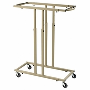 ALVIN Mobile Rack for Blueprints Holds 12 Clamps