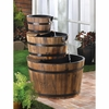 Water Fountain Apple Barrels    FREE SHIPPING