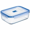 "Luminarc Pure Box Rectangular with Vent Lid,  7.3"" x 5"" x 2.6"", 41.25oz"