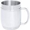 Beer Mug  Arctic Blast  27oz Barrel-Shaped Stainless Steel