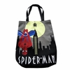 Art Deco Spiderman Tote