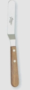 Ateco Offset Icing Spatula Wood Handle 4-1/2""