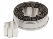 Ateco Graduated Daisy Stainless Steel  Cookie Cutter 6pc. Set