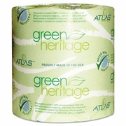 Atlas Green Heritage  Toilet Tissue Two-Ply 500 sh/rl  80rls/cs