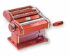 Marcato Atlas 150 Hand Crank Pasta Machine   Red