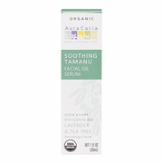 Aura Cacia Organic Facial Oil Serums Soothing Tamanu Oil 1 oz