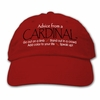 Ball Cap, Advice from a Cardinal