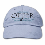 Ball Cap, Advice from an Otter