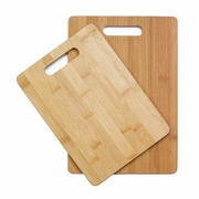 Bamboo Cutting Board Duo