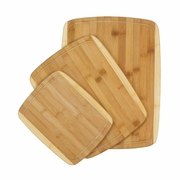 Bamboo Cutting Board Trio   3pc.