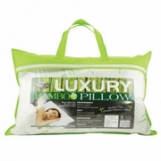 Bamboo Memory Foam Pillow Queen Sized
