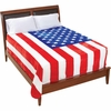 Be An American™ U.S.A Flag Blanket Queen/King