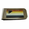Bear Pride Money Clip Stainless Steel