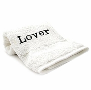 Bedroom Hand Towel  Embroidered  Lover