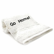 Bedroom Hand Towels Embriodered  Go Home!