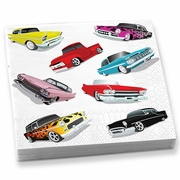 Beverage Napkins  Cars  20 napkins/pkg