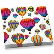 Beverage Napkins Hot Air Balloons  20 napkins/pkg