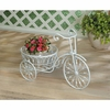 Bicycle Planter White