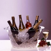 Prodyne Big Party Tub Chiller for Wine or Champagne