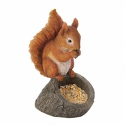Birdfeeder Red Squirrel