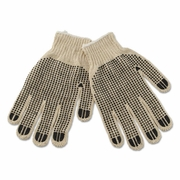 Boardwalk  Men's PVC Dotted Canvas Gloves  DZ