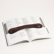 Book Weight Croco-Grained Leather