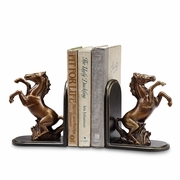 Bookends  Rearing Horses