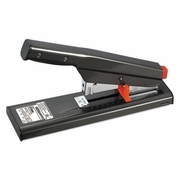 Bostitch Antimicrobial 130-Sheet Heavy-Duty Stapler, 130-Sheet Capacity, Black