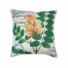 "Botanical Gardens Throw Pillow  17""sq."